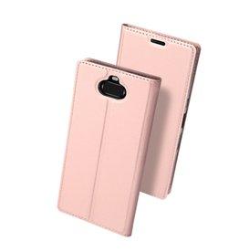 Dux Ducis Dux Ducis pro serie - slim wallet hoes - Sony Xperia 10 Plus - Rose Goud