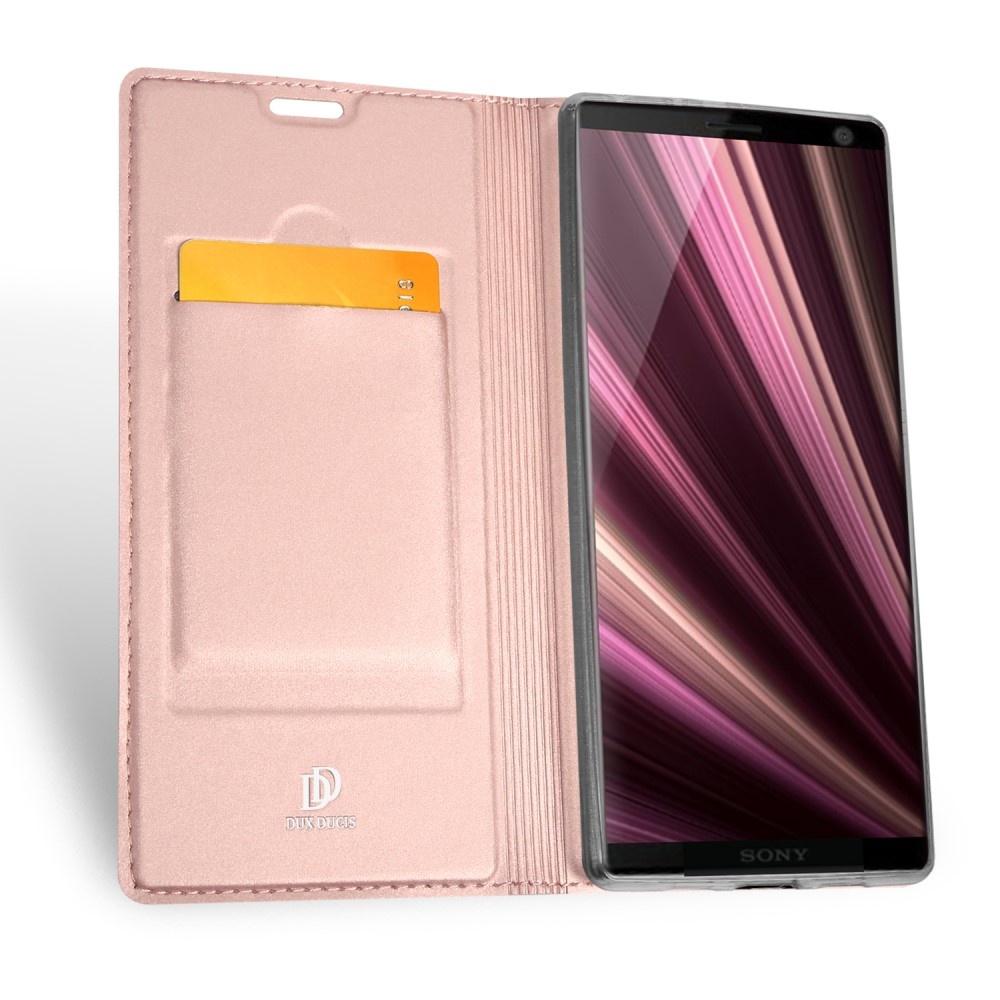 Dux Ducis Pro serie slim wallet Rose Goud hoes voor de Sony Xperia 10 Plus - Copy