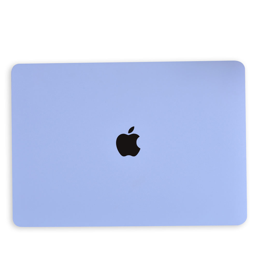 Lunso Cover hoes Candy Tranquility Blue voor de MacBook Air 13 inch (2018)