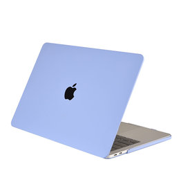 Lunso Lunso - cover hoes - MacBook Air 13 inch (2018) - Candy Tranquility Blue