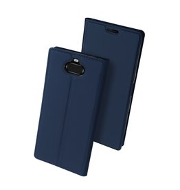 Dux Ducis Dux Ducis pro serie - slim - wallet hoes - Sony Xperia 10  - Donkerblauw