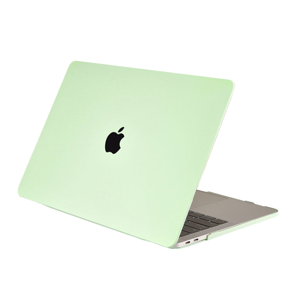 Lunso Cover hoes Candy Honeydew Green voor de MacBook Air 13 inch (2018-2019)