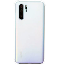 Schokbestendige softcase hoes - Huawei P30 Pro - Transparant