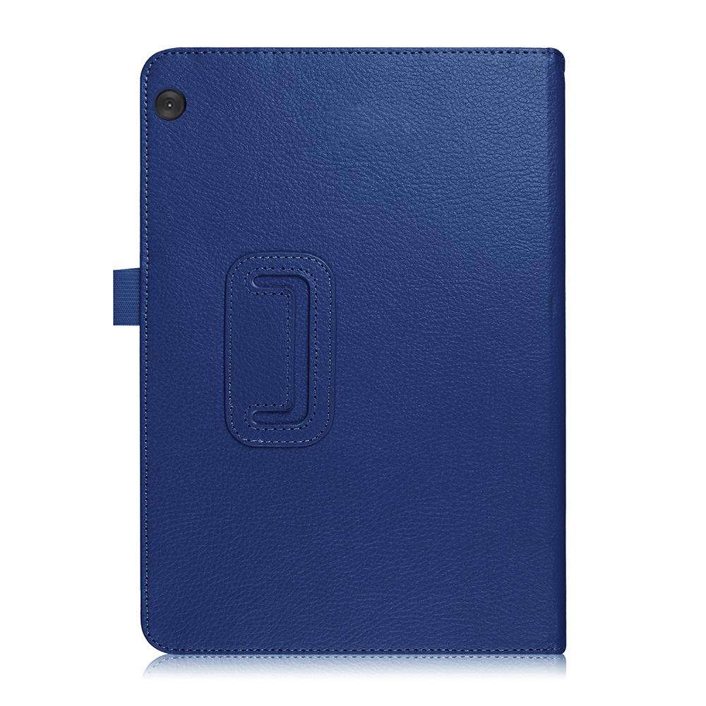 Stand flip hoes Blauw voor de Lenovo Tab M10