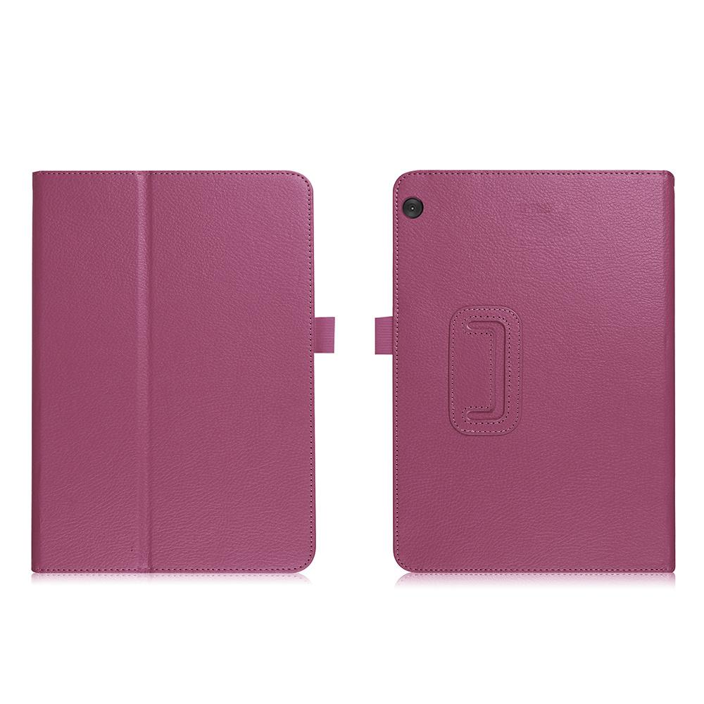 Stand flip hoes Paars voor de Lenovo Tab M10