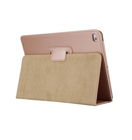 Lunso Stand flip sleepcover hoes - iPad 9.7 (2017/2018) / Pro 9.7 / Air / Air 2 - Goud