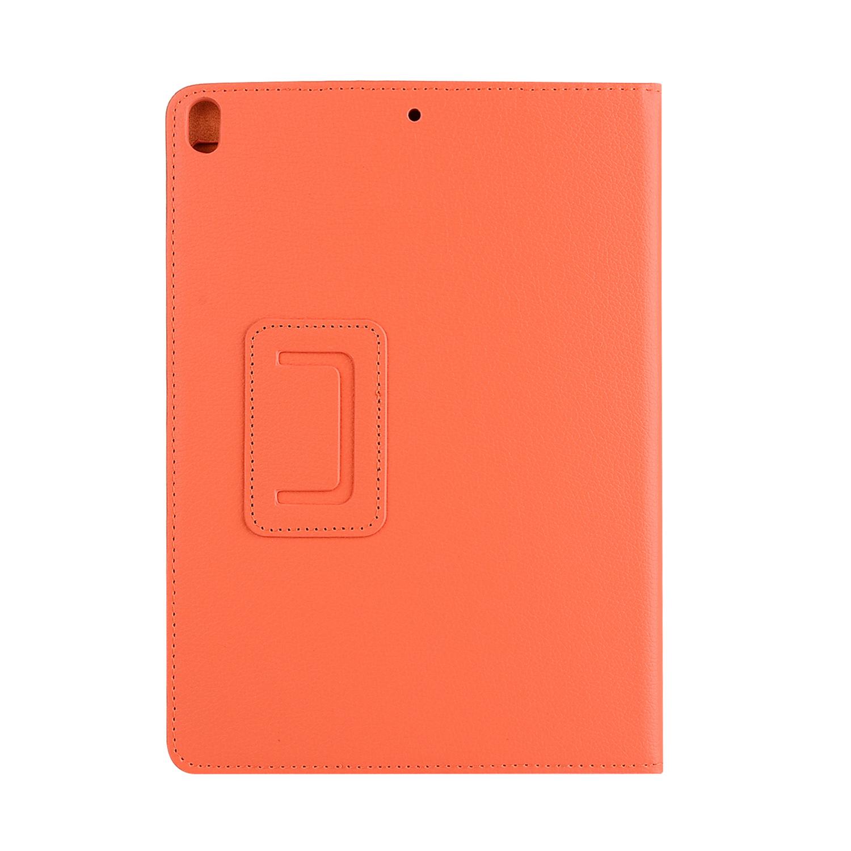 Stand flip sleepcover hoes Oranje voor de iPad Pro 10.5 inch / Air (2019) 10.5 inch