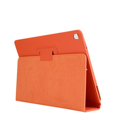 Lunso Stand flip sleepcover hoes - iPad Pro 10.5 inch / Air (2019) 10.5 inch - Oranje