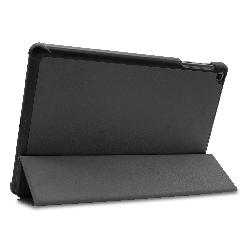 3-Vouw cover hoes Zwart voor de Samsung Galaxy Tab A 10.1 inch (2019)