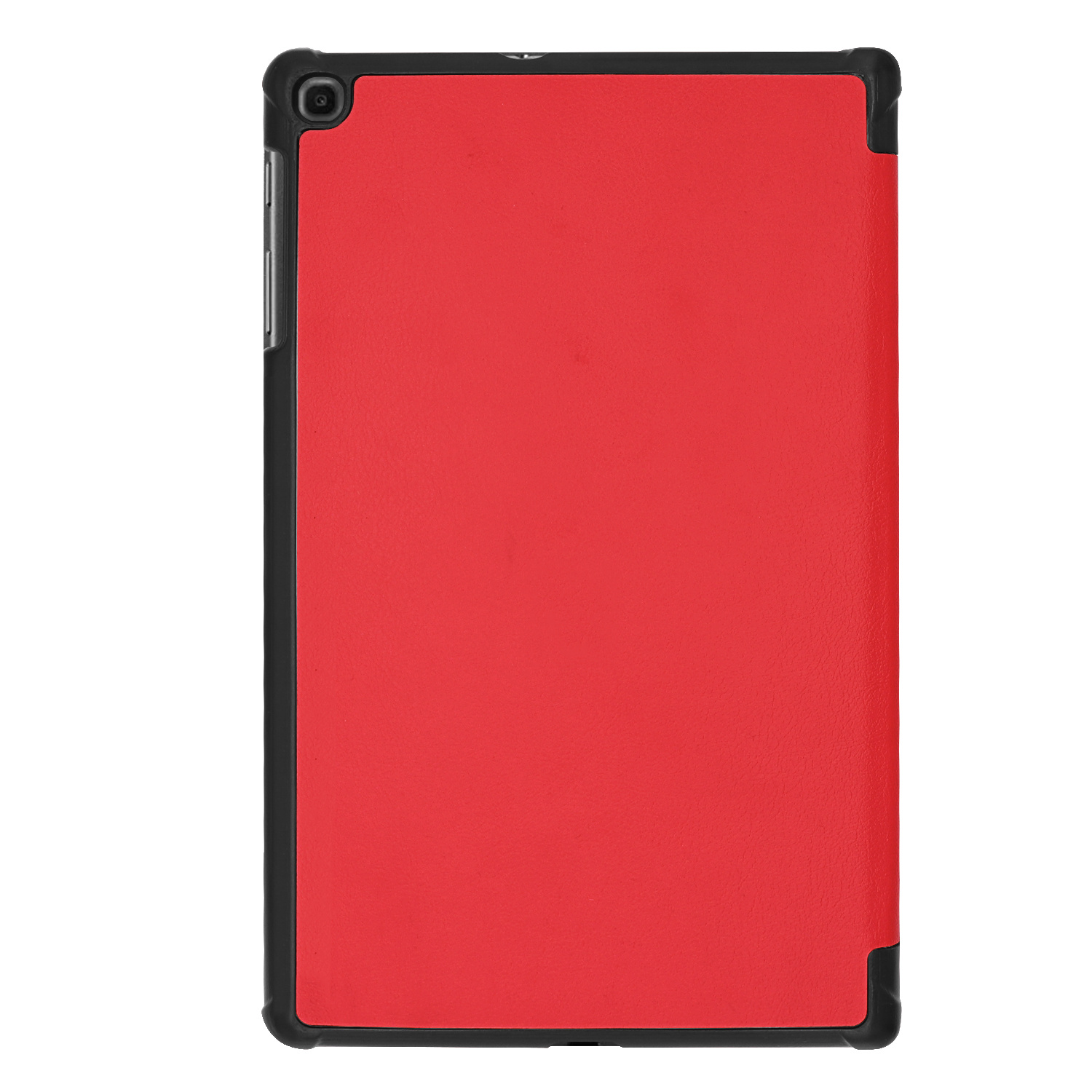 3-Vouw cover hoes Rood voor de Samsung Galaxy Tab A 10.1 inch (2019)
