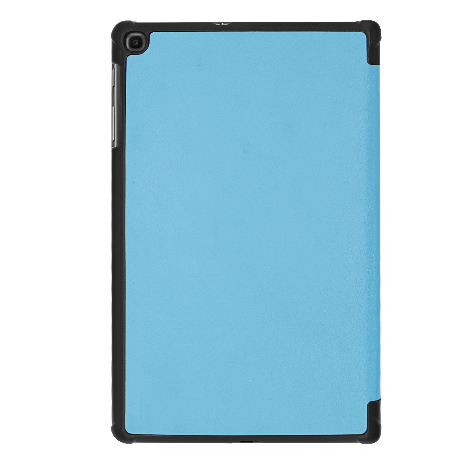 3-Vouw cover hoes Lichtblauw voor de Samsung Galaxy Tab A 10.1 inch (2019)