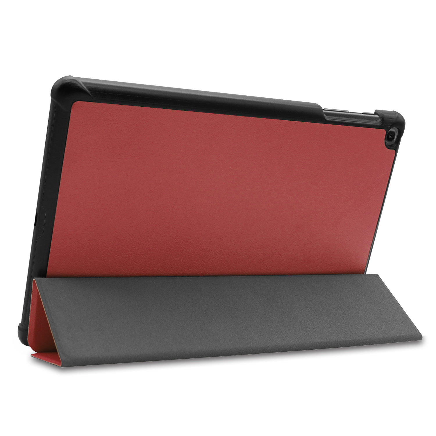 3-Vouw cover hoes voor de Samsung Galaxy Tab A 10.1 inch (2019) Bordeaux Rood