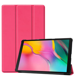 3-Vouw sleepcover hoes - Samsung Galaxy Tab S5e 10.5 inch - Roze