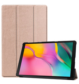 3-Vouw sleepcover hoes - Samsung Galaxy Tab S5e 10.5 inch - Rose Goud