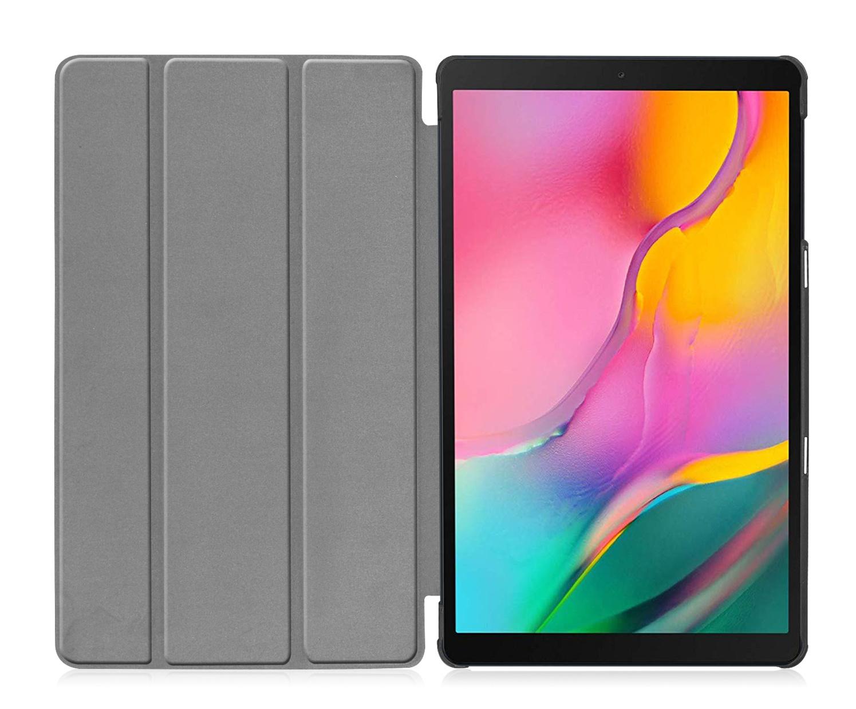 3-Vouw sleepcover hoes Paars voor de Samsung Galaxy Tab S5e 10.5 inch