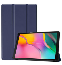 3-Vouw sleepcover hoes - Samsung Galaxy Tab S5e 10.5 inch - Blauw