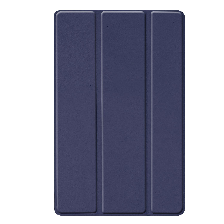 3-Vouw sleepcover hoes Blauw voor de Samsung Galaxy Tab S5e 10.5 inch
