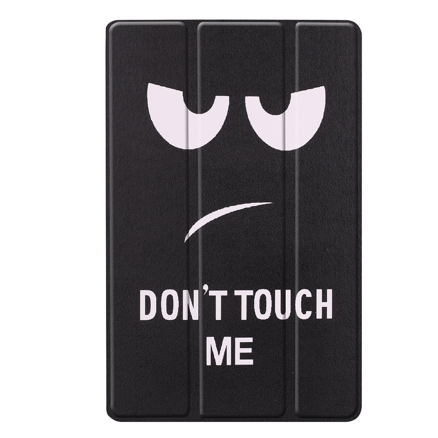 3-Vouw sleepcover hoes Don't Touch voor de Samsung Galaxy Tab S5e 10.5 inch