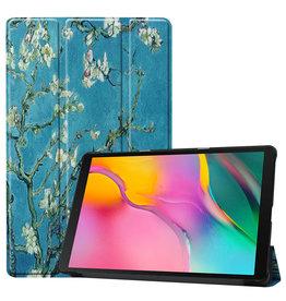 3-Vouw sleepcover hoes - Samsung Galaxy Tab S5e 10.5 inch- Van Gogh Amandelboom