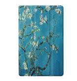 3-Vouw sleepcover hoes Van Gogh Amandelboom  voor de Samsung Galaxy Tab S5e 10.5 inch