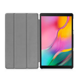 3-Vouw cover hoes Don't Touch voor de Samsung Galaxy Tab A 10.1 inch (2019)