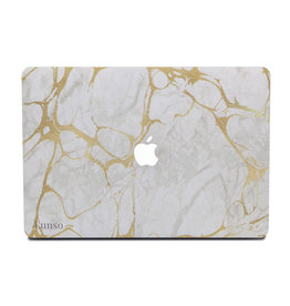 Lunso Lunso - cover hoes - MacBook Pro 13 inch (2012-2015) - Marble Stella
