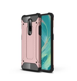 Lunso Lunso - Armor Guard hoes - OnePlus 7 Pro - Rose goud