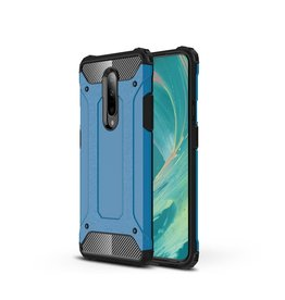 Lunso Lunso - Armor Guard hoes - OnePlus 7 Pro - Lichtblauw