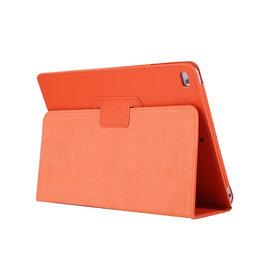 Lunso Stand flip sleepcover hoes - iPad 9.7 (2017/2018) / Pro 9.7 / Air / Air 2 - Oranje