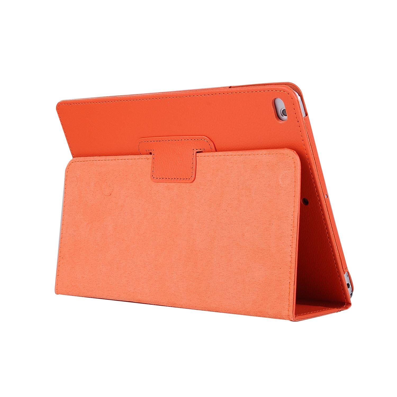 Stand flip sleepcover hoes - iPad 9.7 (2017/2018) / Pro 9.7 / Air / Air 2 - Oranje