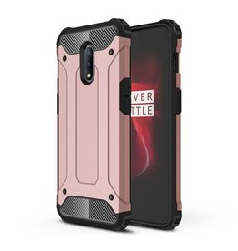 Lunso Lunso - Armor Guard hoes - OnePlus 7  - Rose Goud