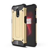 Lunso Armor Guard hoes Goud voor de OnePlus 7