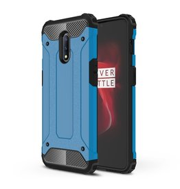 Lunso Lunso - Armor Guard hoes - OnePlus 7  - Lichtblauw