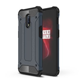Lunso Lunso - Armor Guard hoes - OnePlus 7  - Donkerblauw