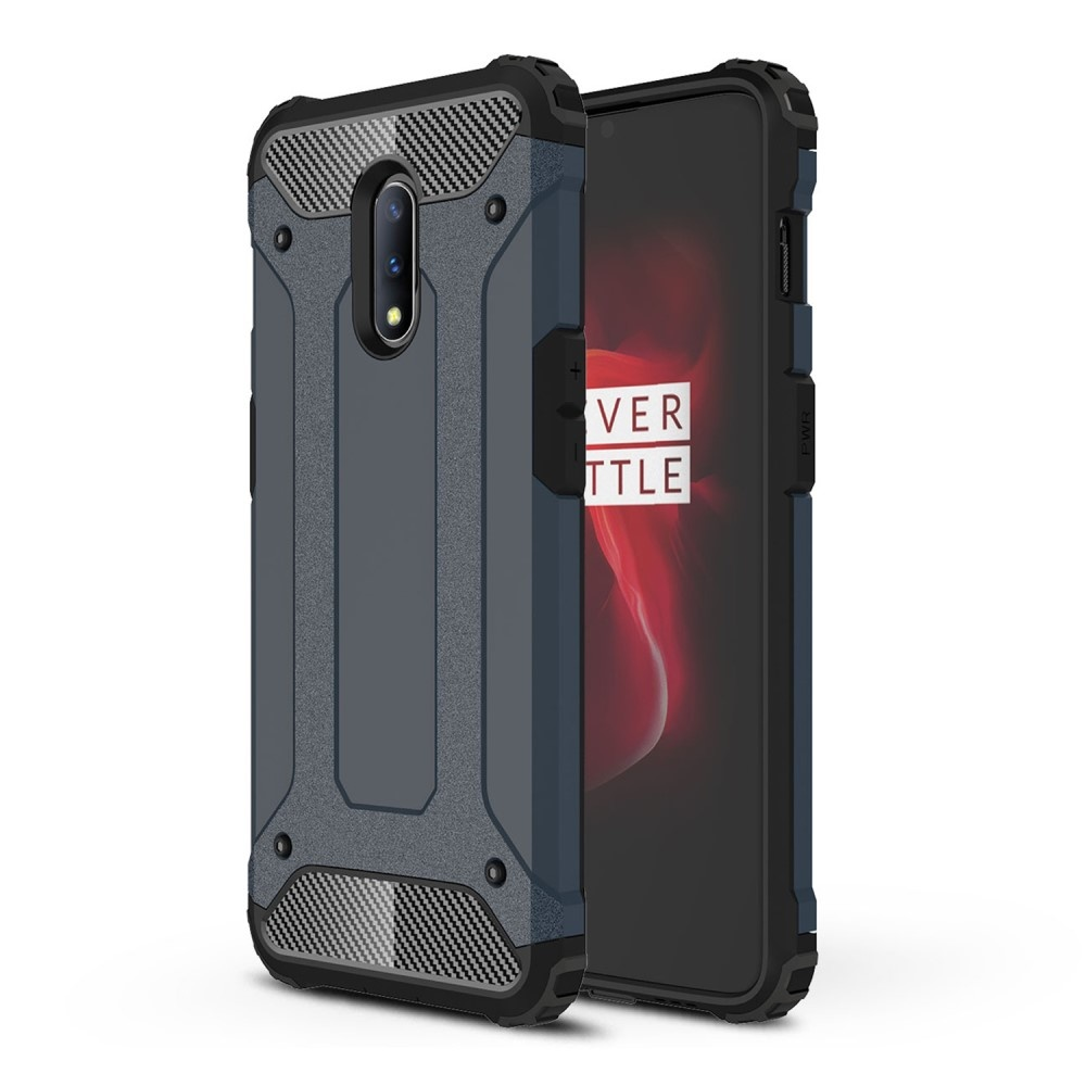 Lunso Armor Guard hoes donkerblauw voor de OnePlus 7