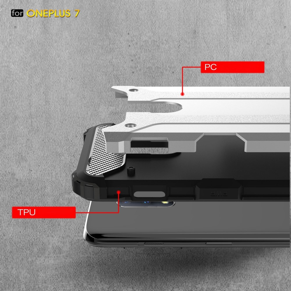 Lunso Armor Guard hoes Lichtblauw voor de OnePlus 7