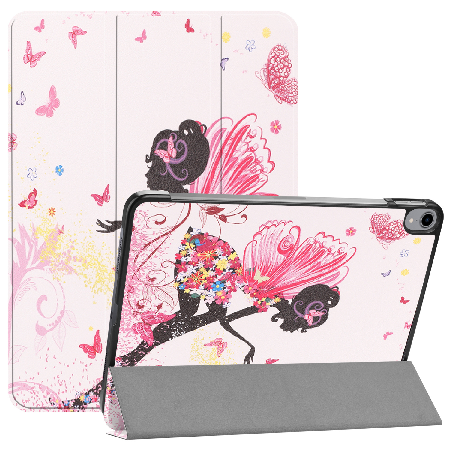3-Vouw sleepcover hoes - iPad Pro 11 inch (2018-2019) - Fee