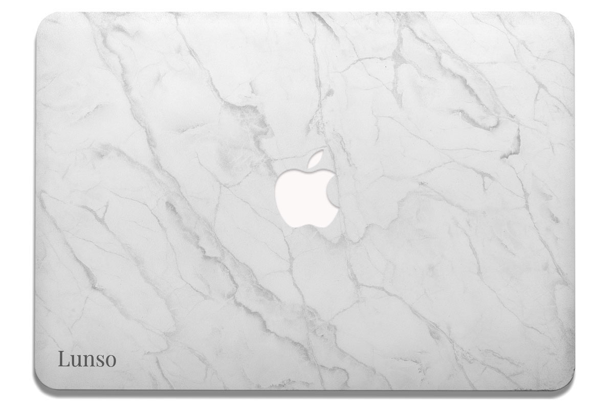 Lunso Marble Isla cover hoes voor de MacBook Air 13 inch (2012-2017)