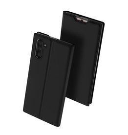 Dux Ducis Dux Ducis - pro serie slim wallet hoes - Samsung Galaxy Note 10 - Zwart