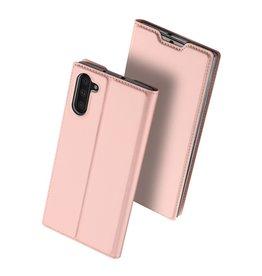 Dux Ducis Dux Ducis - pro serie slim wallet hoes - Samsung Galaxy Note 10 - Roze Goud