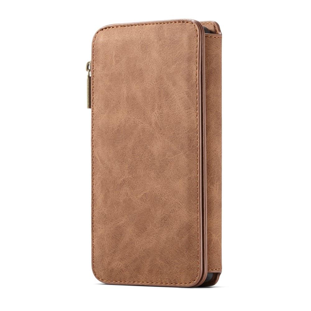Caseme Luxe portemonnee hoes bruin voor de Samsung Galaxy Note 10