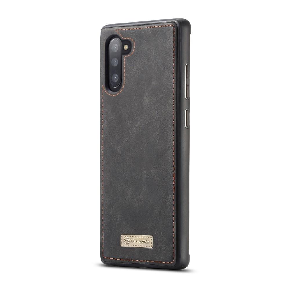 Caseme Luxe portemonnee hoes Zwart voor de Samsung Galaxy Note 10