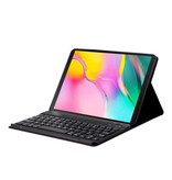 Lunso Afneembare Keyboard hoes Blauw voor de Samsung Galaxy Tab A 10.1 (2019)