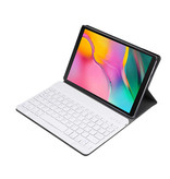 Lunso Afneembare Keyboard hoes Rose Goud voor de Samsung Galaxy Tab A 10.1 (2019)