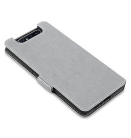 Qubits Qubits - slim wallet hoes - Samsung Galaxy A80 - Grijs