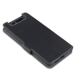 Qubits Qubits - slim wallet hoes - Samsung Galaxy A80 - Zwart