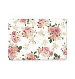 Lunso Flower Pink vinyl sticker voor de MacBook Air 13 inch (2010-2017)