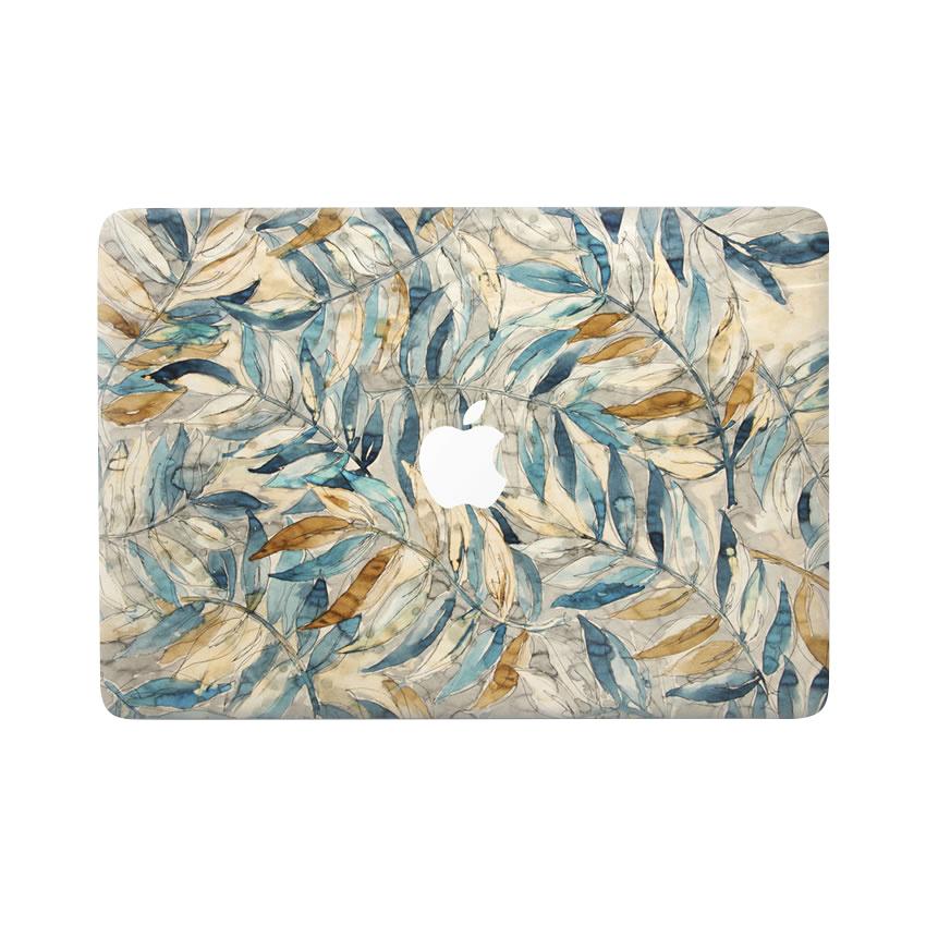 Lunso Leaves vinyl sticker voor de MacBook Air 13 inch (2010-2017)