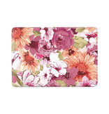 Lunso Flower Painting vinyl sticker voor de MacBook Air 13 inch (2010-2017)