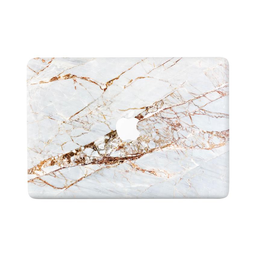 Lunso Marble Sage vinyl sticker voor de MacBook Air 13 inch (2010-2017)